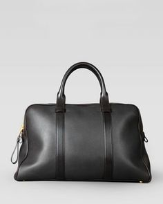 """Small Buckley Duffel Bag, Brown by Tom Ford at Bergdorf Goodman. 13""""H x 20""""W x 6""""D Have you checked out these fashinable duffel bags"""