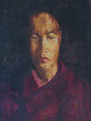 Moine tibetain
