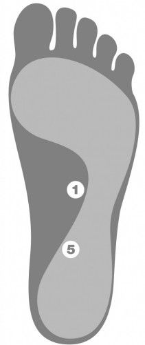 Melt Method Foot Therapy Chart
