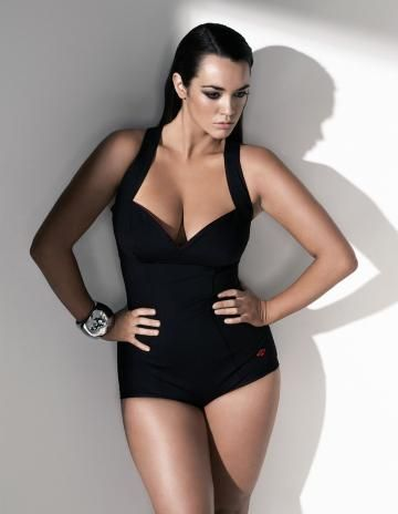 nice one-piece: Curvy Girl, Bathing Suits, Beautiful Curve, Size Models, Plus Size Model