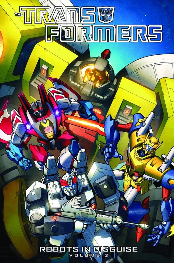 Robots in Disguise volume 3