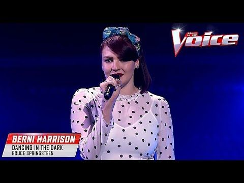 Blind Audition Berni Harrison Dancing In The Dark The Voice