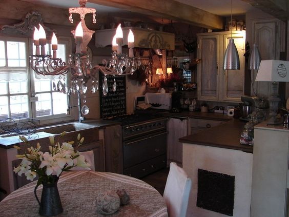 Maison Bois Contemporaine Finlande :  shabby kitchens small kitchens and more shabby chic shabby deco chic