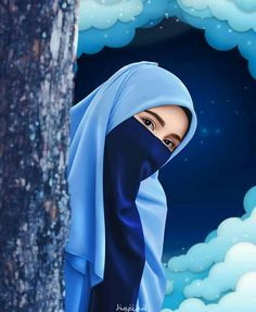 Kumpulan Gambar Kartun Muslimah 1
