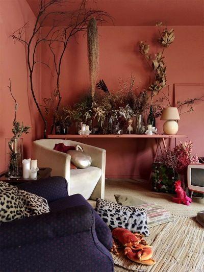 Kombinasi Warna Cat Kamar Pink Salem 7