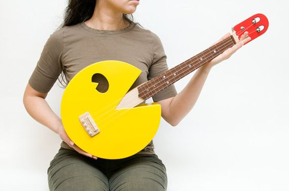Instrumentos customizados pra cacete