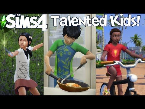 The Sims 4 Kids Can Cook Do Magic Ride Bikes And More Mod Showcase Youtube Sims 4 Expansions The Sims 4 Packs Sims 4 Children