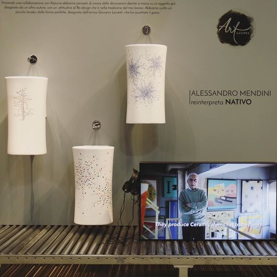AZZURRA CERAMICA | Best from #SalonedelMobile 2016  #AzzurraCeramica #newproducts #salonedelmobile2016 #salone2016 #salonebagno #isaloni2016 #bathroomdesign #bathroomdecor #bathrooms #bathroominterior #design #designlovers #instadesign #arredobagno #sanitari #civitacastellana #showroom  #salone2016 #salonedelmobile #salonedelmobile2016 #salonebagno #isaloni #MDW2016 #mdw16 #MatteoRagni #DuilioForte #AtelierForte #AtelierMendini #AlessandroMendini #AzzurraArt by azzurraceramica
