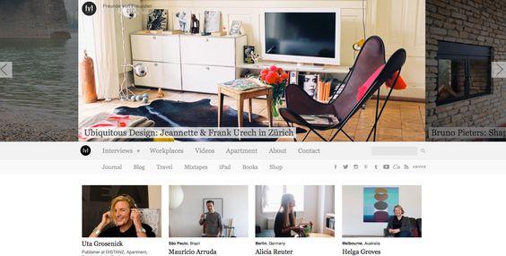 Os 5 melhores blogs de decoração em inglêsRui e Tiago Vilaça