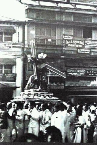 1930s Black Nazarene procession.