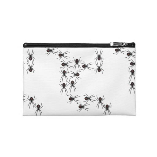 Creepy Crawly Spiders Travel Accessory Bags