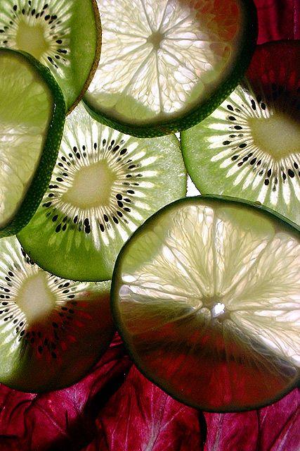 fruit radiographs colored (also do flowers, esp bleeding heart, aquilegia, anemones, ginko, money plant, eucalyptus, lavender)