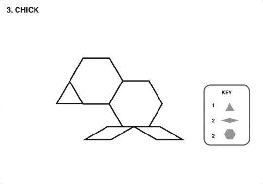 Mouse Tangram  Pattern Blocks    Pattern Blocks Math