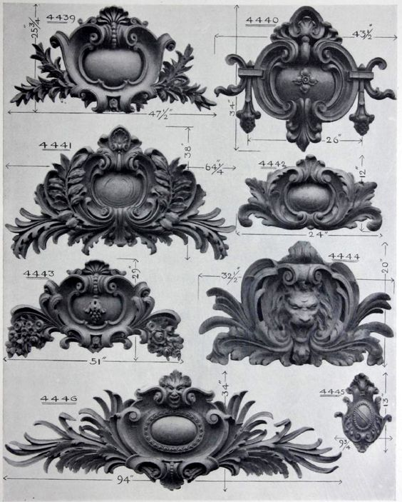 Baroque design and design elements on pinterest for Baroque design elements