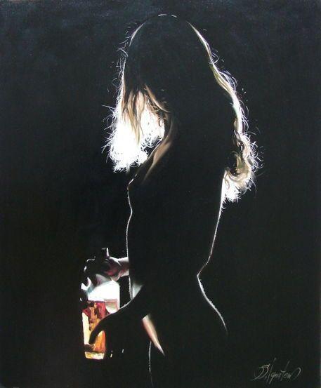'Alone at home 2' von Sergey Ignatenko bei artflakes.com als Poster oder Kunstdruck $18.03