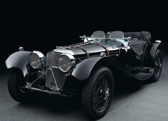 1936 – 1940 Jaguar SS100 #ClassicCars #VintageCars #VCI