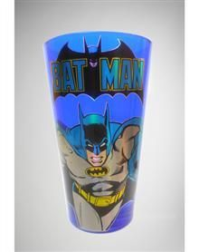 Batman Blue Action Pint Glass
