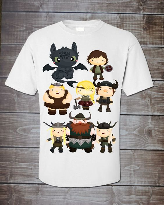 Train My Dragon Gang Bodysuit or Shirt