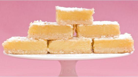 Delicious lemon fingers...