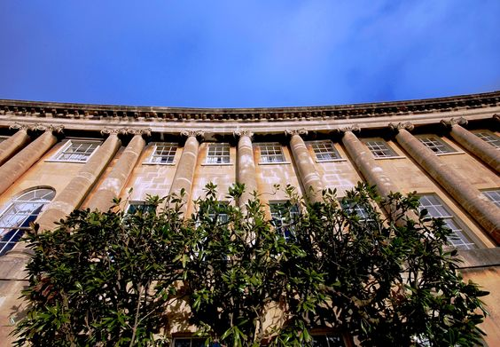 The Royal Crescent.