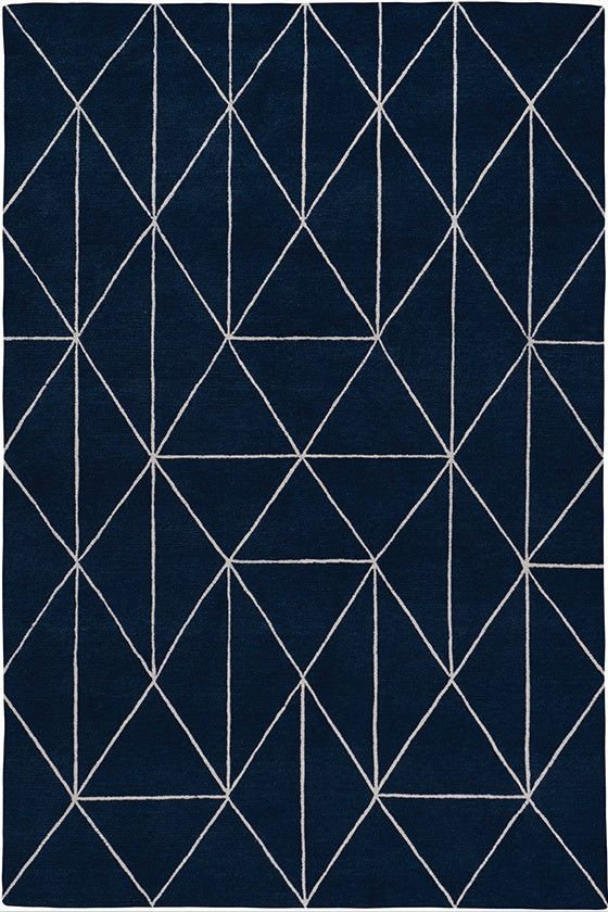 Diamond Maze Navy Geometric Rugs Contemporary Rugs Shop Collection The Rug Company Geometricrugs Geometric Rug Rugs On Carpet Contemporary Rugs