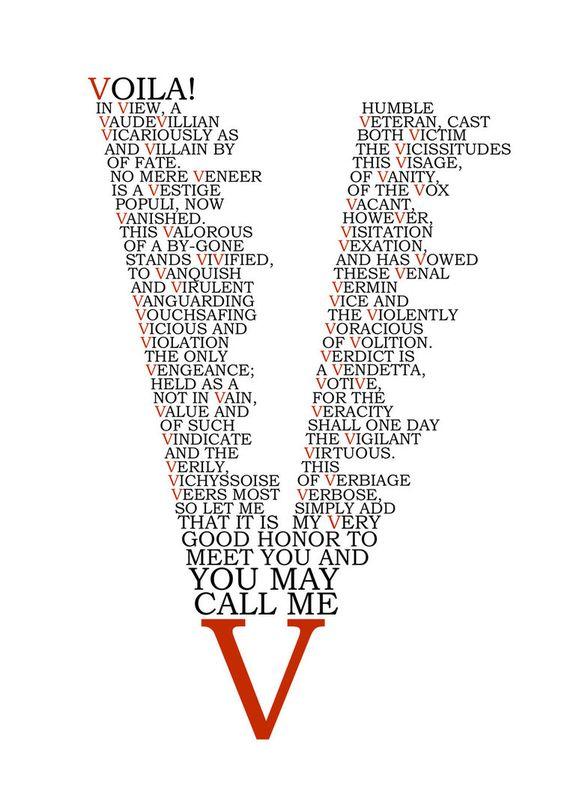 V For Vendetta by charliechaplin42