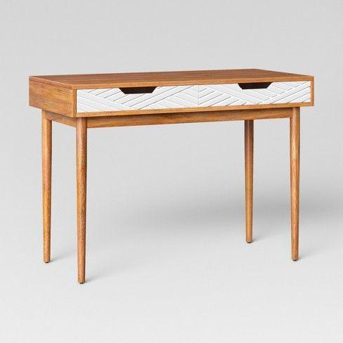 Touraco Writing Desk Brown White Opalhouse Small Writing Desk