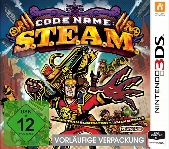 Code Name: S.T.E.A.M. Games Nintendo 3DS Strategie