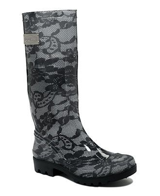 GUESS Women's Shoes, Innocent Rain Boots - Boot Specials - Shoes - Macy's size 9 $34.50