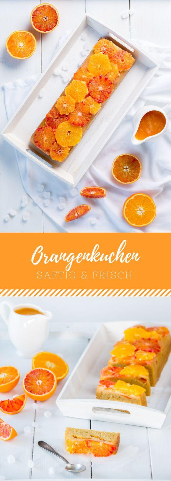 Orangenkuchen mit Diamant Zucker