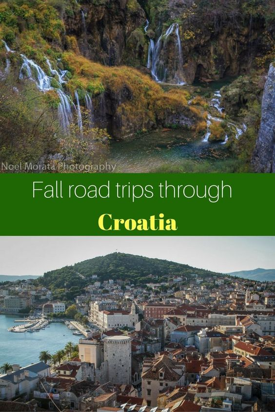 The Dalmatian coast through to Plitvice National park in Croatia is a perfect time to visit during the shoulder season to avoid crowds and also enjoy the scenic beauty of this country. Check out the images and details here http://travelphotodiscovery.com/fall-road-trip-through-croatia/
