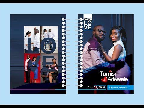 Secret Ways In Designing Classic Couple S Jotter Youtube Social Media Design Graphics Jotter Latest Graphic Design Trends
