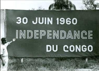 de onafhankelijkheid werd overal in Congo gevierd