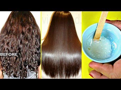 Youtube Hair Straightening Treatment Hair Treatment At Home Straightening Natural Hair