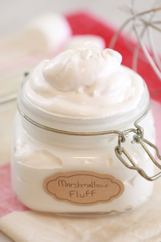 How To Make Homemade Marshmallow Fluff Bigger Bolder Baking Recipe Homemade Marshmallow Fluff Marshmallow Fluff Recipes Fluff Recipe