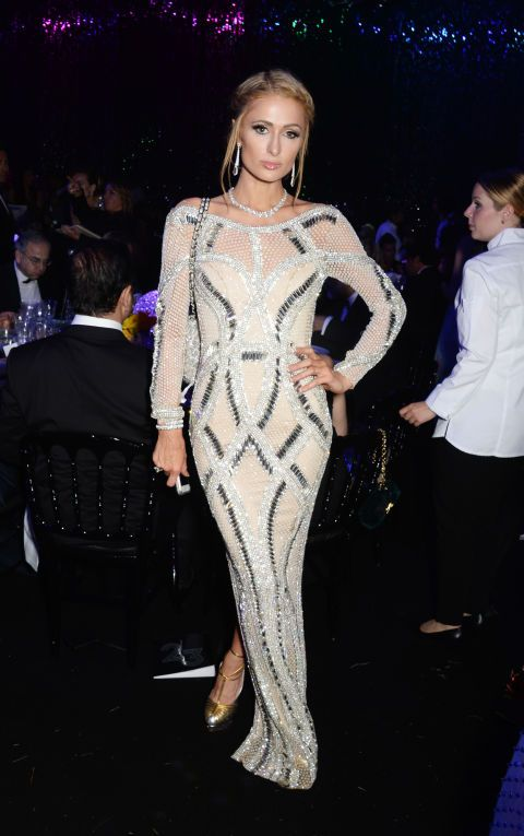 Paris Hilton At cannes
