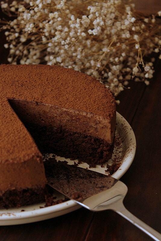 Cocina Compartida Tarta Mousse De Chocolate Sin Gluten Ni