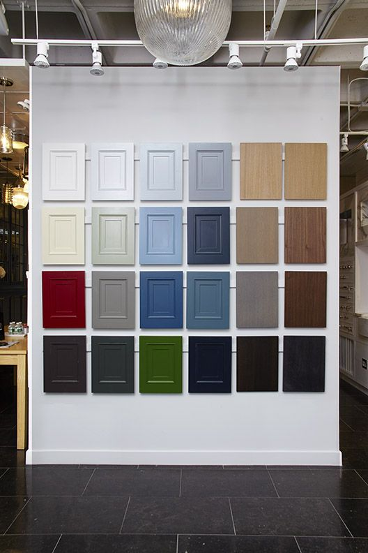 Cabinet Colors in the 59th St Showroom | New York 59th ...