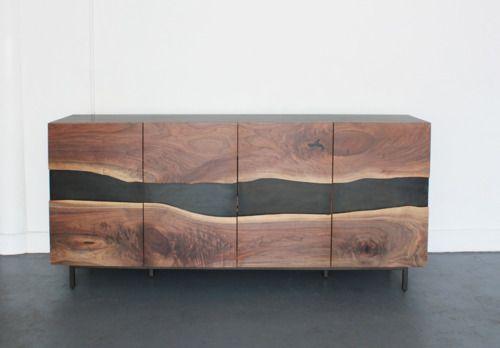 Sideboard ob das furnier ist oder vollholz sieht gut for Sideboard vollholz