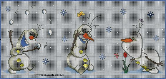 Frozen - Olaf 1 of 2