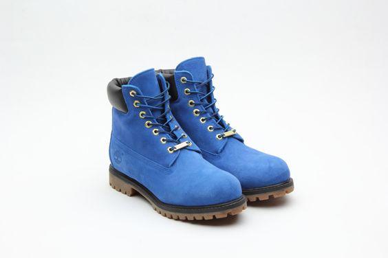 ティンバーランドの青い「イエローブーツ」アトモスが11月発売 | Fashionsnap.com