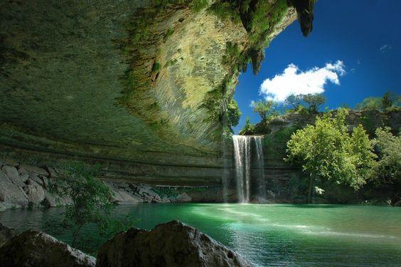 Reserva Hamilton Pool, Austin, Texas