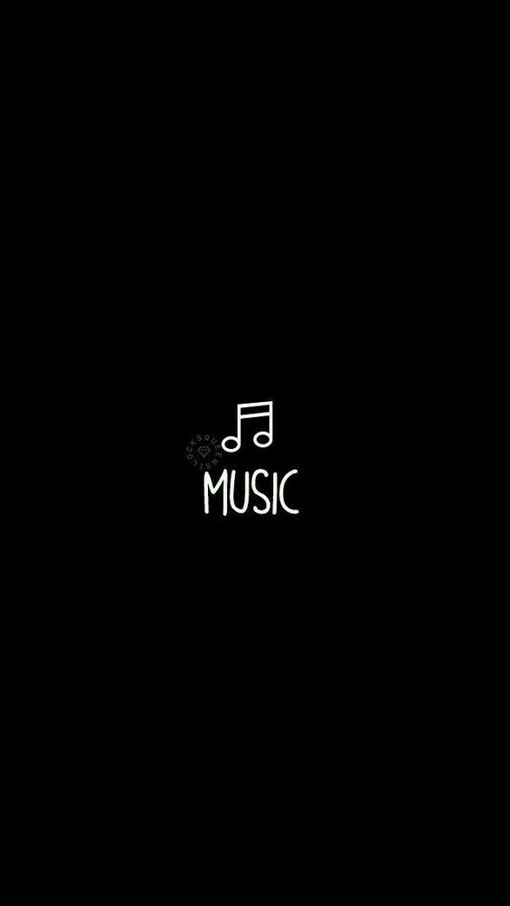 It S Just That Simple We Love Music Black Wallpaper Dark