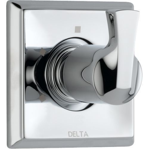 Delta T11851 Dryden 3 Function Diverter Trim - Less Valve Chrome Faucet Diverter Single Handle