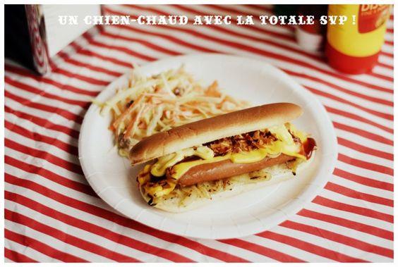 Hot dog fête foraine