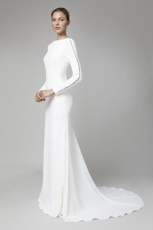 Vestidos De Novia Sencillos Sobriedad Belleza Y Minimalismo Vestidos De Novia Vestidos De Novia Sencillos Vestidos De Novia Diferentes