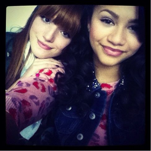 Me and Zendaya #BellaThorne