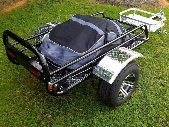Rally Wagon Motorcycle Trailer   Pull Behind Motorcycle Trailer #TheUSATrailerStore #trailerlove