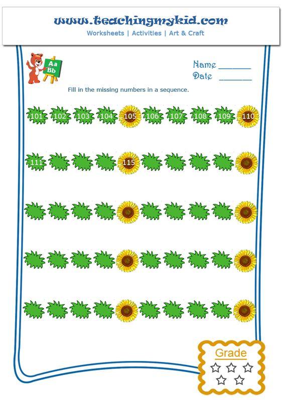 Skip Counting by 5 – Worksheet – 3 | Teachingmykid.com | Pinterest ...