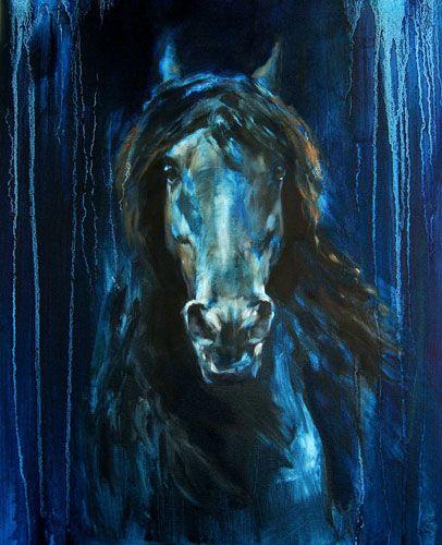 Image result for Blue horse